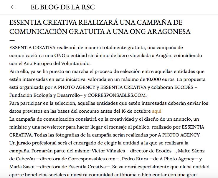blog de rsc