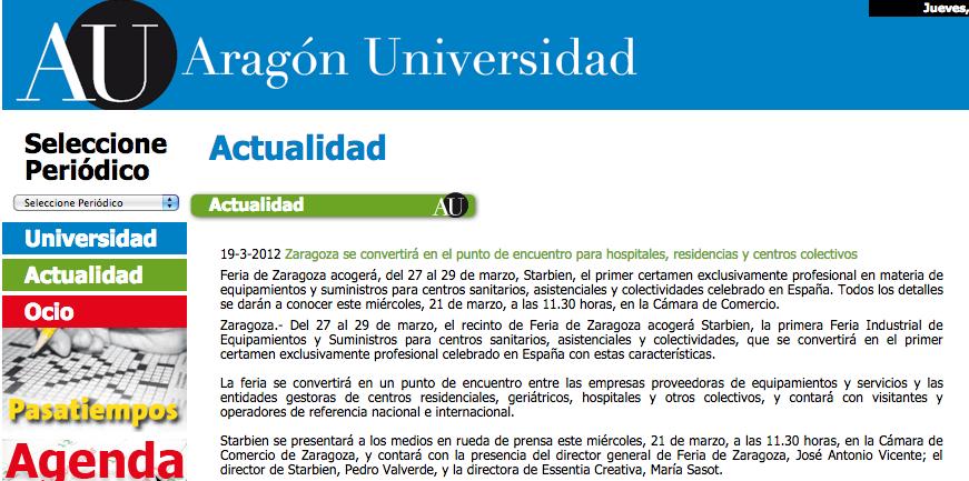 aragon universidad