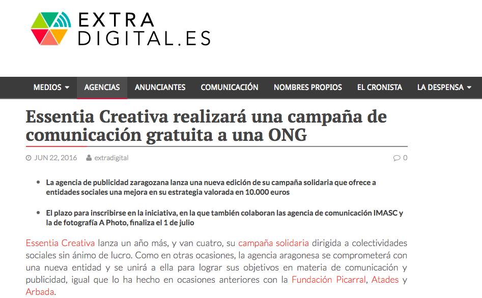 extradigital ONG campaña