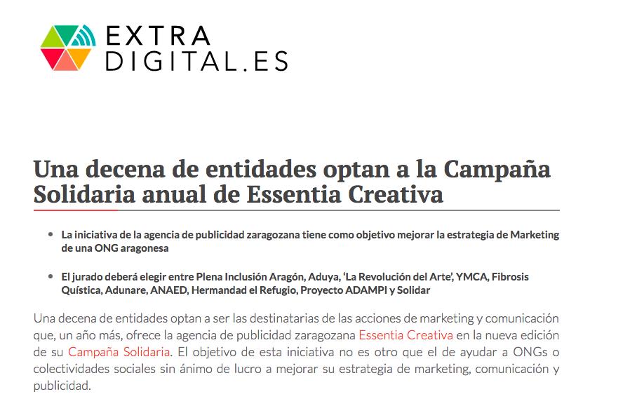 extra digital campaña anual