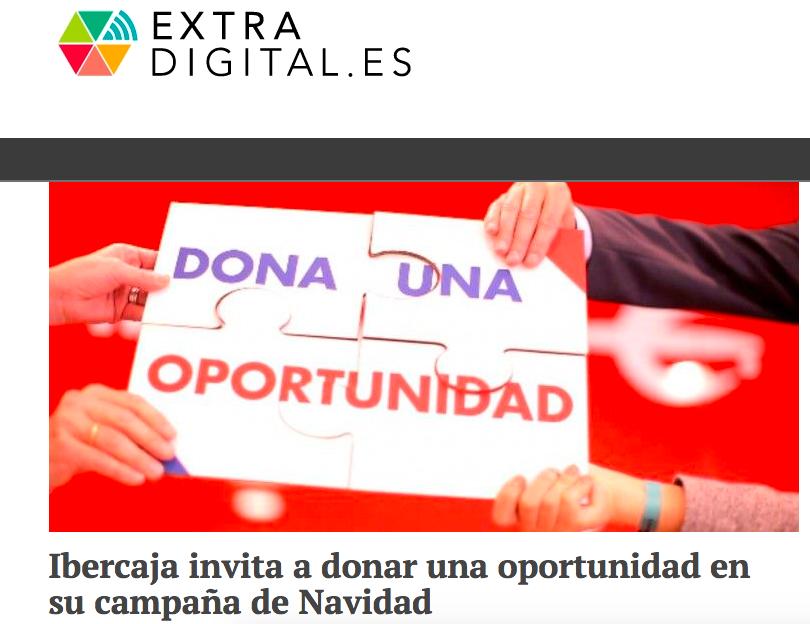 extradigital dona una oportunidad