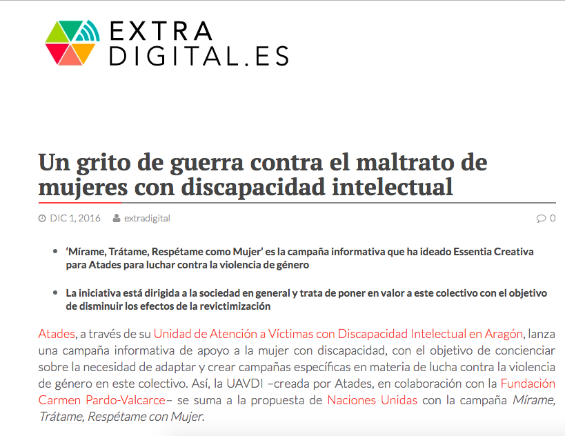 extra digital discapacidad intelectual