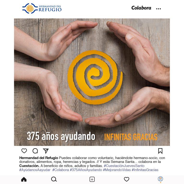 CAMPAÑA SEMANA SANTA – LA HERMANDAD DEL REFUGIO