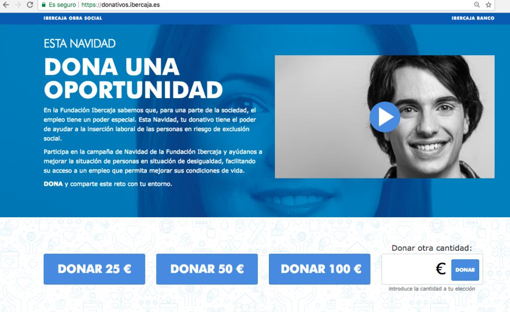 Donativos Ibercaja Obra Social