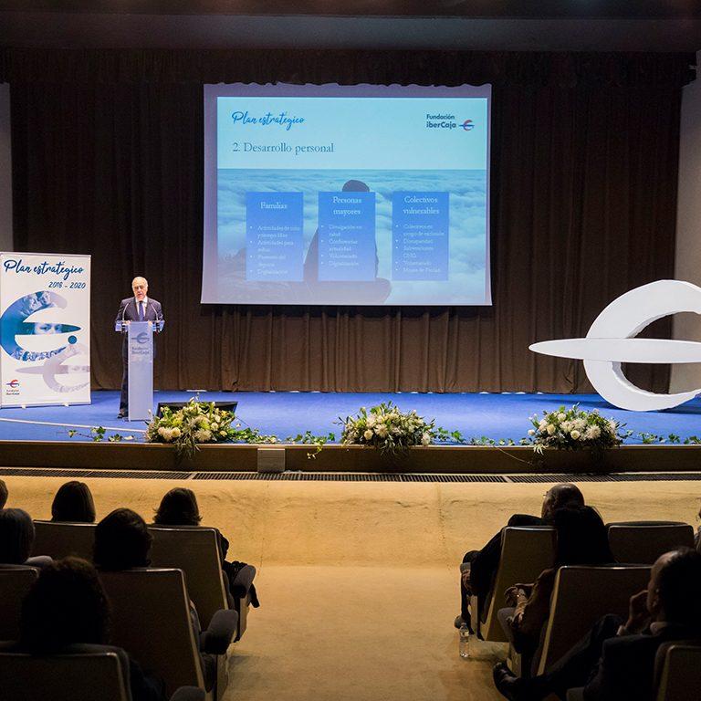 Presentación del PLAN ESTRATÉGICO para FUNDACIÓN IBERCAJA