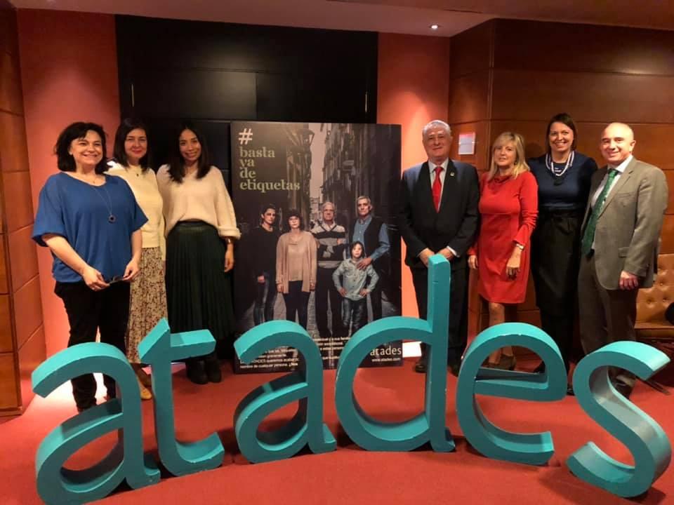 Rueda Prensa: #BastaYaDeEtiquetas nuestra nueva campaña para ATADES