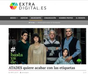 Extradigital: ATADES quiere acabar con las etiquetas