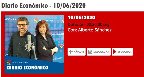 Aragón Radio: Conocemos con Maria Sasot, directora de Essentia Creativa ,la iniciativa #Estiempoparaconfiar