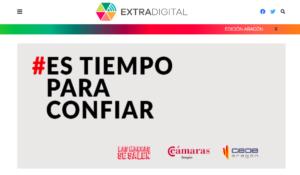 ExtraDigital: El sector empresarial aragonés recuerda que ahora 'es tiempo para confiar'