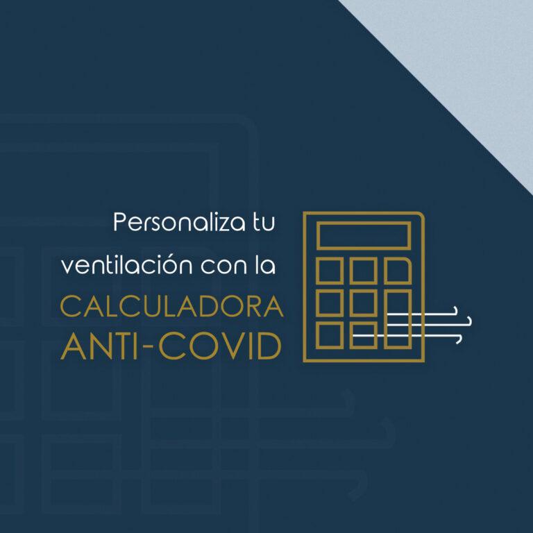 Calculadora de ventilación anti Covid-19