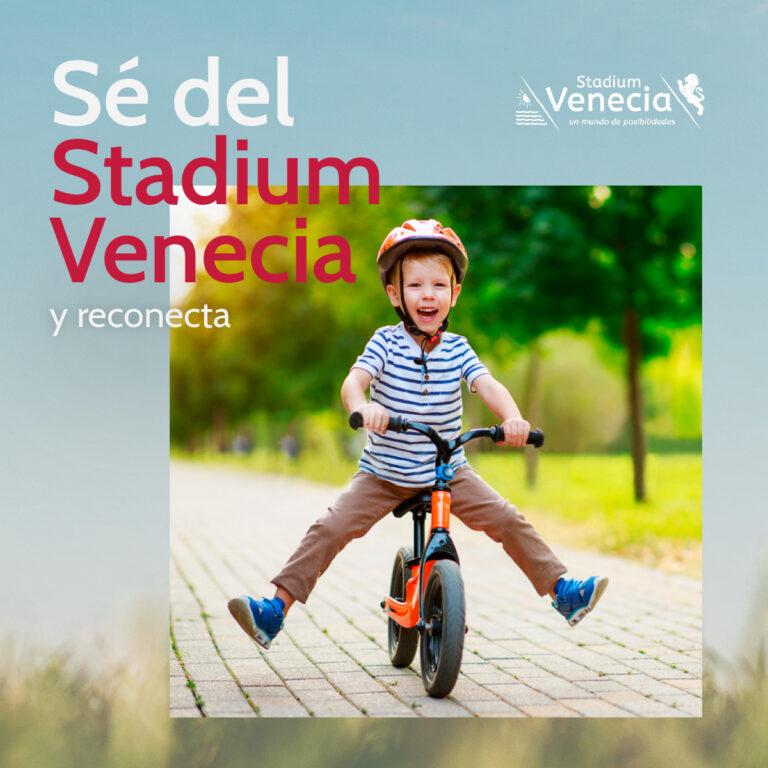 Sé del Stadium Venecia y reconecta